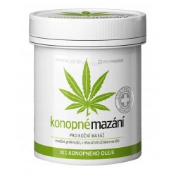 MEDICPROGRESS MAŚĆ KONOPNA 10% DO MASAŻU 250ml